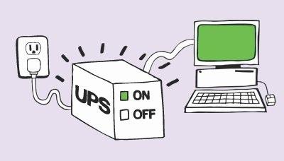Bộ lưu điện UPS giúp bảo vệ dữ liệu như thế nào